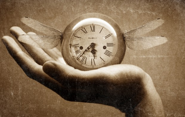 Living is using time given to you and can't recall lost time. Photo by Katie Lepi